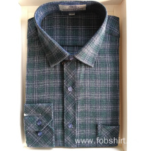 Flannel Fabric Top Quality Shirt