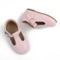 Hard Sole Girl Walking Dress Shoes for Kids
