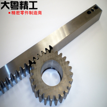 OEM precision rack and gear machining