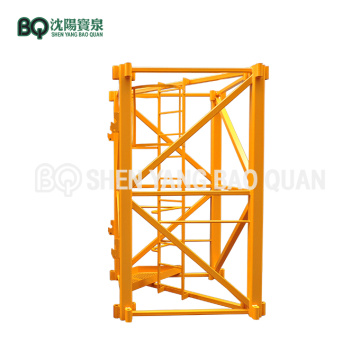 2m*2m*2.8m Mast Section for Zoomlion Tower Crane TC6016A-8