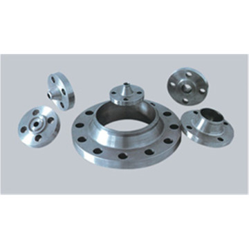 Various types of flanges