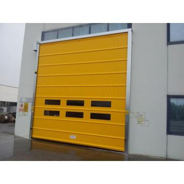 Automatic high speed stacking roller shutter door