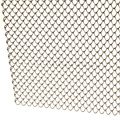 silver color stainless steel decorative for mesh curtain