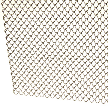 Decorative Chain Link Curtain Metal Fireplace mesh curtain