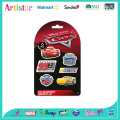 DISNEY&PIXAR CARS blister card 6 pack erasers