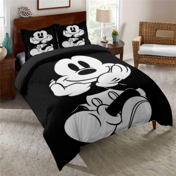Disney Mickey Minnie Mouse Duvet Cover Set Kid Present Bedclothes 3d Bedding Sets for Full Queen 3pcs Bed Quilt Cover Pillowcase