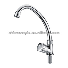 Single handle UPC commercial kitchen faucet
