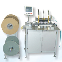Semi-auto double spiral wire loop binding machine