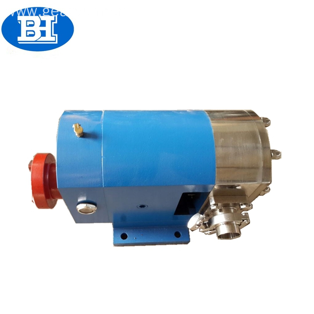 SS304/SS316L stainless steel sanitary rotary lobe honeypump