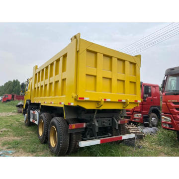 Second hand Howo dumper truck tipper trucks