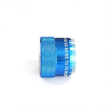 Color Aluminum Knurled Thumb Screw  Cap Nut