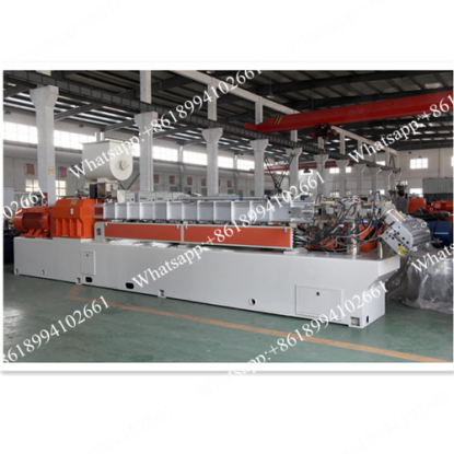 Plastic sheet extrusion line