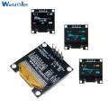 "0.96"" 0.96 inch 128X64 I2C SSD1306 12864 LCD Screen Board IIC Serial Yellow Blue / Blue / White OLED Display Module for Arduino"