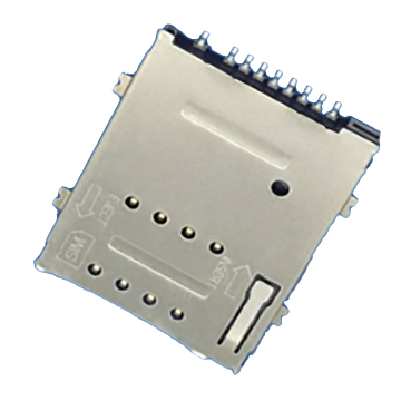 SIM With Boss series 1.80mm height connector