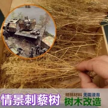 Scene architectural model sand vegetation thorns quinoa military scene DIY production materials