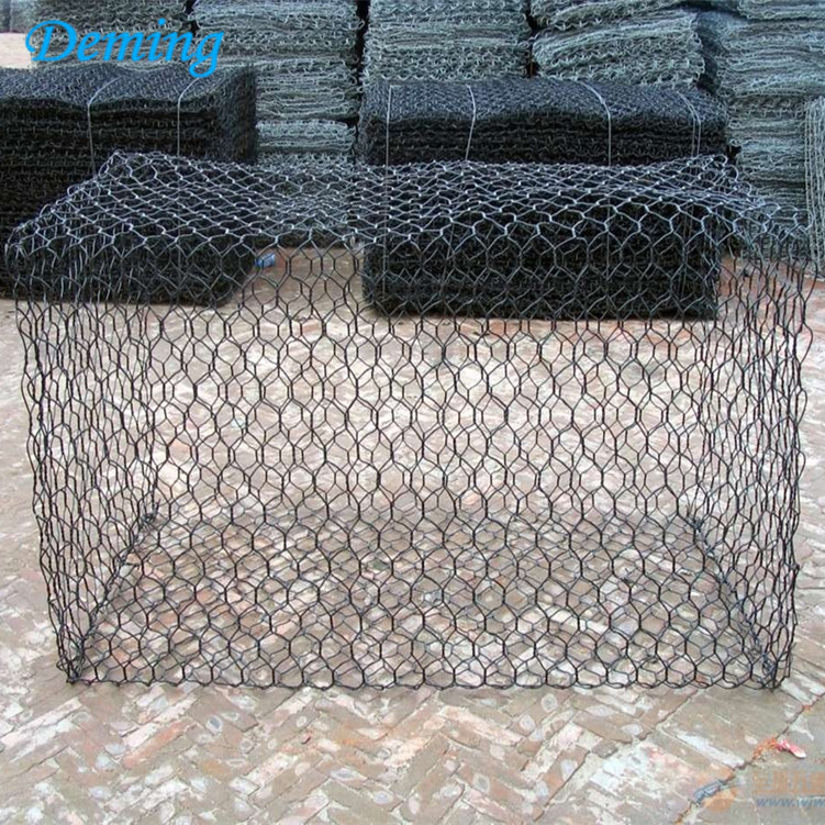 Powder Coated Hexagonal Woven Gabion Box Price