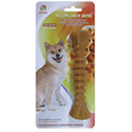 "Percell 6"" Nylon Dog Chew Spiral Bone Honey Scent"
