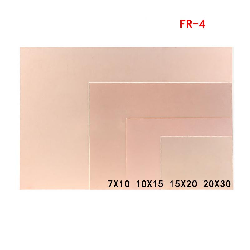 pcb board FR-4 7x10 10x15 15x20 20x30 Universal experiment board Single-sided fiberglass clad laminate