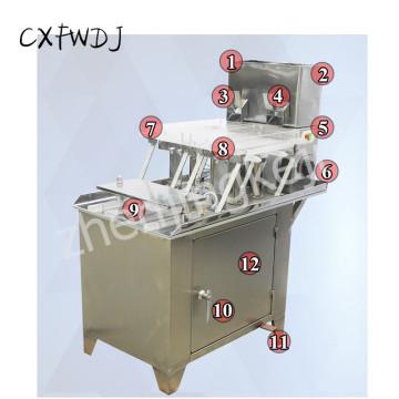 TSP-187B Stainless Steel Semi-Automatic Capsule filling Machine Powder filling Machine Food filling Machine