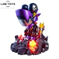 High Quality Chameleon Figure Toys Action Figure Resin