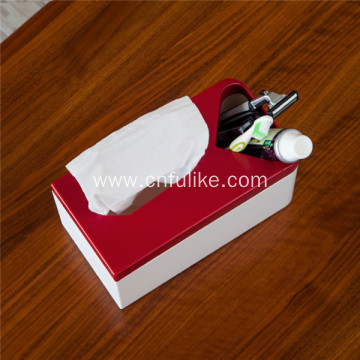 Multifunction Tissue Box Cover Holder Desk Storage Box