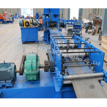 Highway Road Safty Guardrail Roll Forming Machine