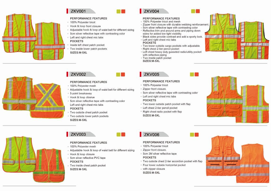 Multi Pocket Safety Vest