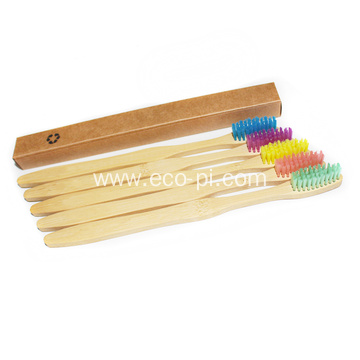 Private Labeling Bamboo Charcoal Teeth Toothbrush