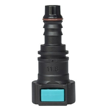 Conductive Quick Connector 11.80 (12) - ID10 - 0° SAE
