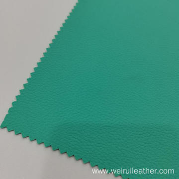 0.6mm Mint-green Clear Lychee Grain PVC Leather