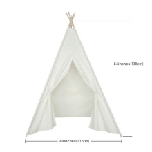 Canvas Fabric Teepee Tent for Girls and Boys