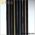 Rainbow long chain nylon zipper for sale