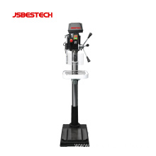 Front switch bench laser drill press machine