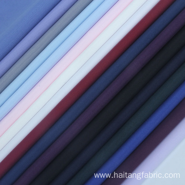 Solid Microfiber fabric Soft Suiting Shirting Plain Fabric