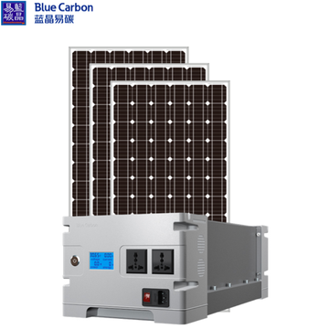 3KWH Home Solar Panel Energy Power System