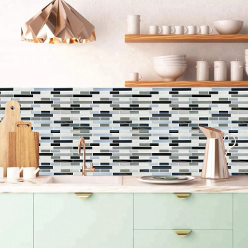 Self Adhesive 3D Mosaic Wall Stickers Kitchen backsplash