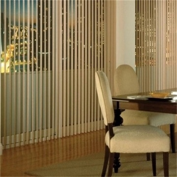 Motorized Sheer Fabric Vertical Shade