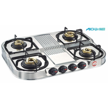Royale Gas Table Duplex Series 4 Burners