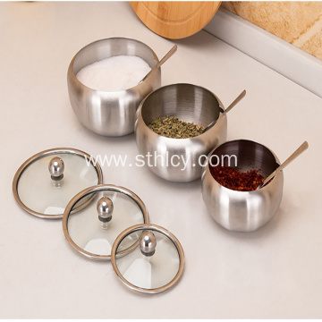 304 Stainless Steel Seasoning Jar Set