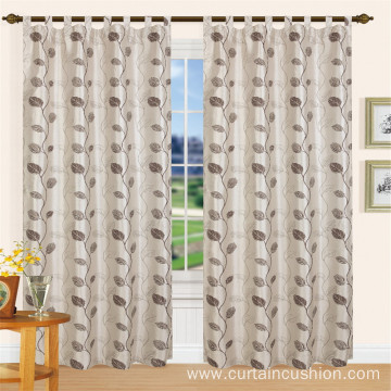 Classic Home Textile Hook Jacquard Curtain