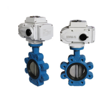 Lug Butterfly Automatic Ball Valve Industrial Valves