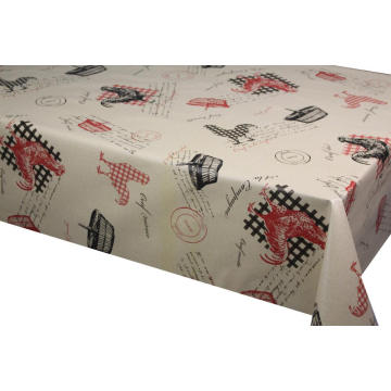 Elegant Tablecloth with Non woven backing Marketing
