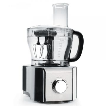 Food processor preparation for food