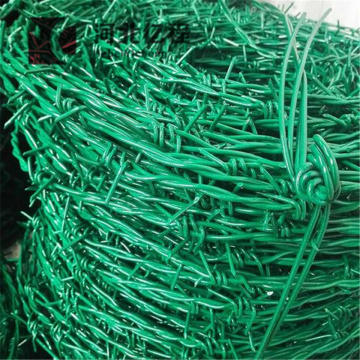 Coated Barbed wire fence with Customizable specification