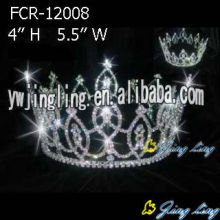 AB Rhinestone Pageant Full Round Crowns