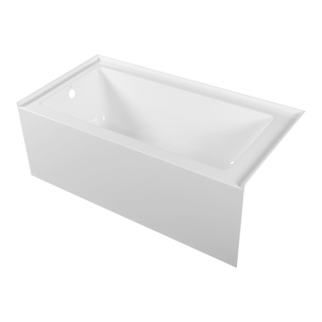 Best Acrylic Three Wall Alcove Soaking Tub