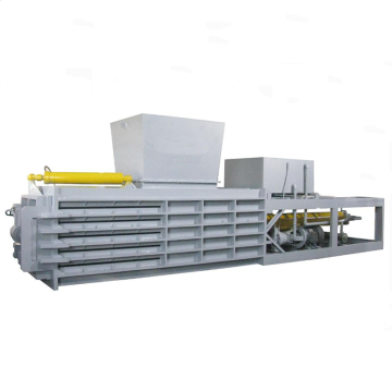 High bale density Horizontal hydraulic baling machine