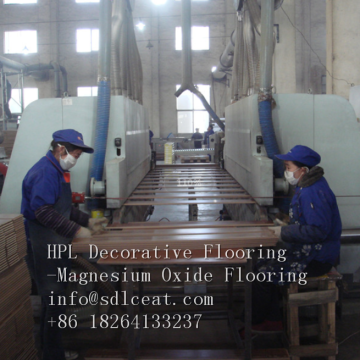 Durable HDF 7.2mm thickness Decorative Laminate Wood Grain Flooring