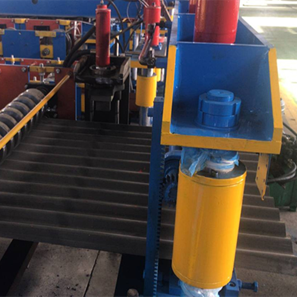 ZT850 corrugated roof sheet roll forming machine
