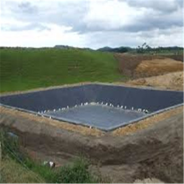 Black HDPE Sheet Pond Liner for Water Reservoir